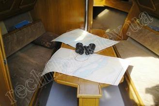 Кают-компания парусной яхты Богема