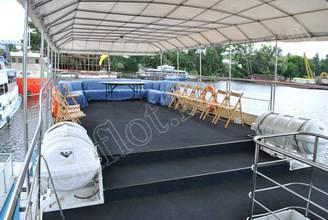 Крытая терраса 2-ой палубы
