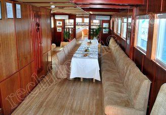 Салон первой палубы теплохода Серебряный Бриз, фото 1