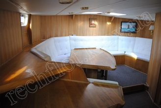 Салон парусной яхты Австралия