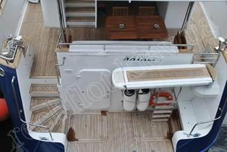 Корма моторной яхты Натали