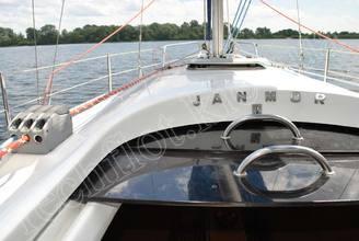 Рубка парусной яхты JANMOR