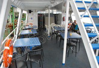 Кормовой салон первой палубы теплохода Риверест, фото 1