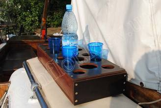 На палубе парусной яхты Риф