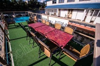 Летняя терраса 2-ой палубы теплохода Деспасiто, фото 1