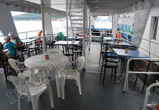 Кормовой салон первой палубы теплохода Риверест, фото 2