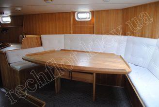 Места отдыха в салоне парусной яхты Австралия