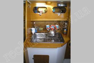 Камбуз парусной яхты Богема