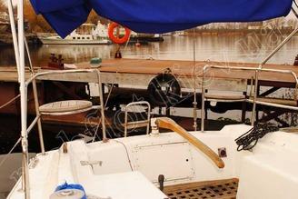 Корма парусной яхты Диамант