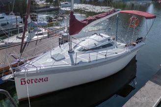 Внешний вид парусной яхты Богема