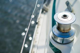 На палубе парусной яхты Октант