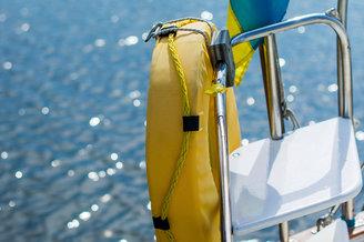 Спасательный круг парусной яхты Октант