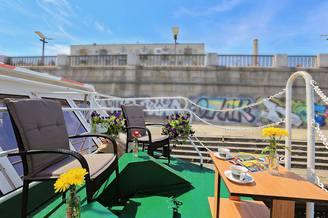 Открытая терраса теплохода Резон, фото 1