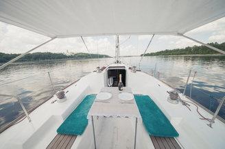 Романтика на парусной яхте Пилар