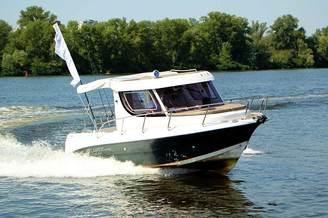 Маневренность катера Атлантик-660