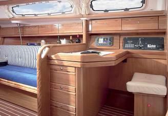 Кают-компания парусной яхты Бавария-33 Александер, фото 3