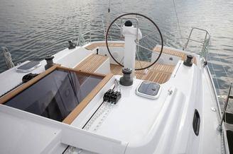 Штурвал парусной яхты Хантер-326