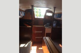 Камбуз с каюты яхты Румбан