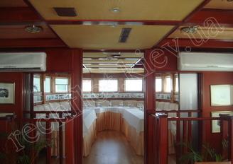 Салон первой палубы теплохода Серебряный Бриз, фото 2