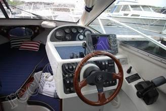 Панель управления катера Финмастер