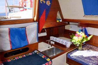 Яхта Карина