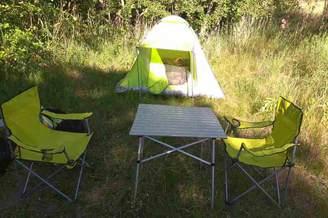 Отдых с палатками на острове