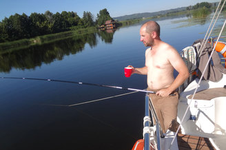 Рыбалка и кофе в турпоходе Salo-Мандры