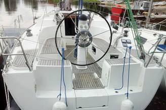 Штурвал парусной яхты HANSE-320 Sorry
