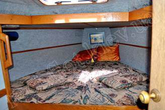 Носовая каюта парусной яхты Лана