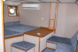 Комфортная каюта на парусной яхте Данапр