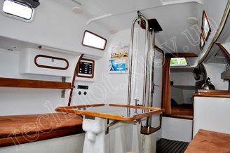 Кают-компания яхты Александра