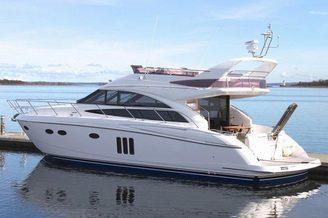 Внешний вид моторной яхты Принцесс-54