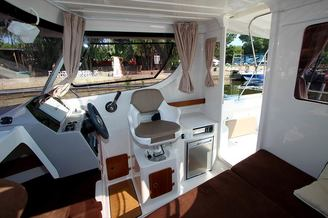 Месторасположение капитана катера Атлантик-660