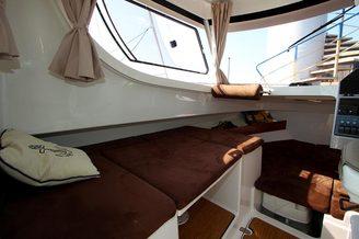 Зона комфорта на катере Атлантик-660