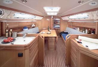 Кают-компания парусной яхты Бавария-33 Александер, фото 1