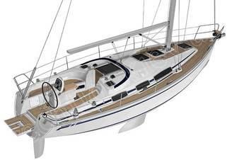 Анимация парусной яхты Бавария-30 Касабланка - компания Рентфлот