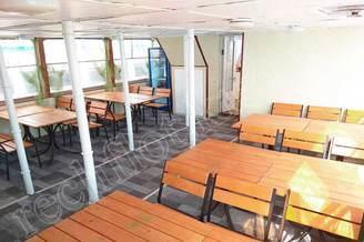 Кормовой салон первой палубы теплохода Радионов