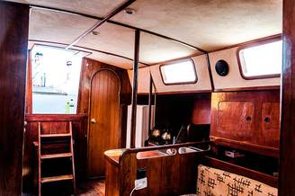 Кают-компания парусной яхты Глория, фото 1